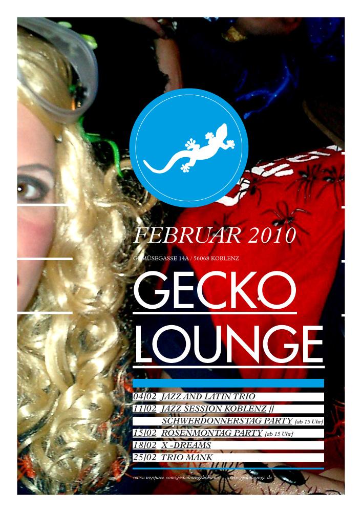 Gecko Lounge Koblenz Events