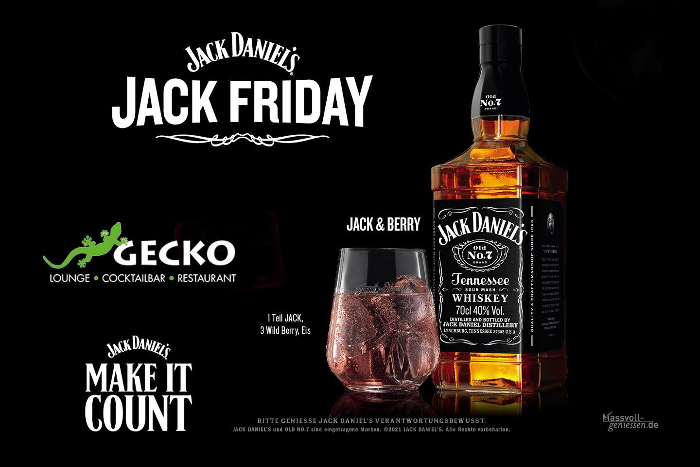 Geckkolounge - Jack Friday